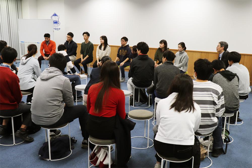 海外進学卒業生座談会01